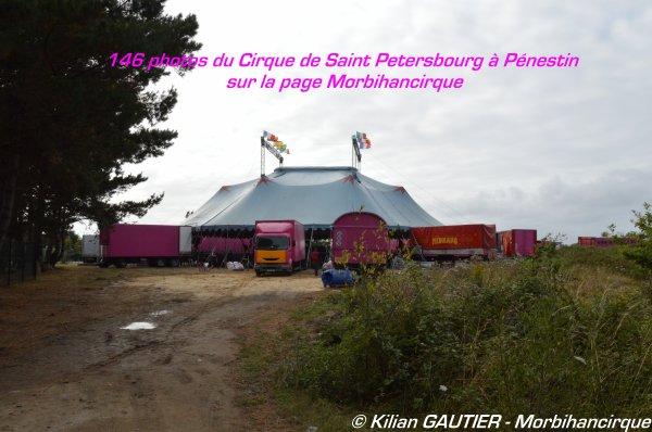 CIRQUE DE SAINT PETERSBOURG Pénestin 2015
