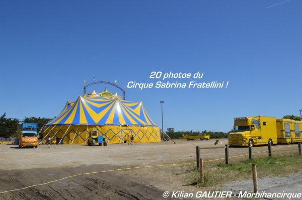 CIRQUE SABRINA FRATELLINI Montoir de Bretagne 2015