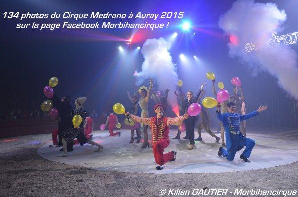 Cirque MEDRANO Auray 2015