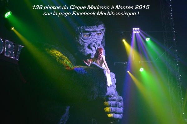Cirque MEDRANO Nantes 2015