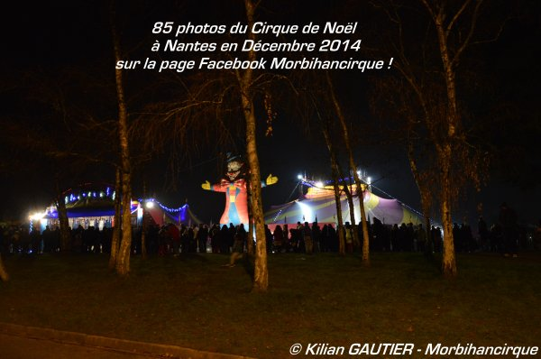 Cirque DE NOEL Nantes 2014