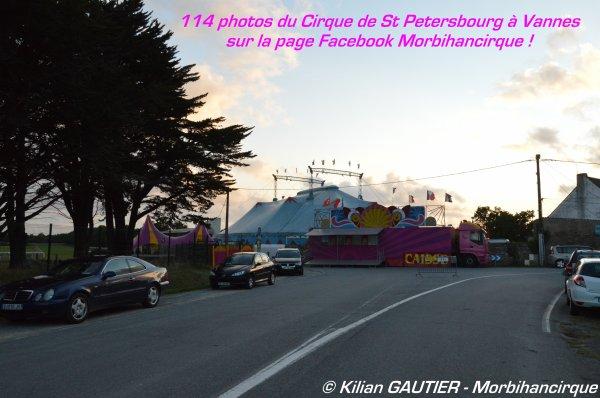 CIRQUE DE SAINT PETERSBOURG Vannes 2015