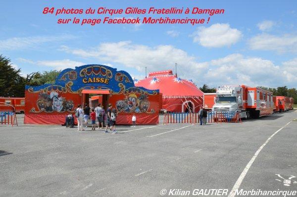 CIRQUE GILLES FRATELLINI Damgan 2015