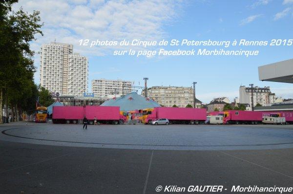CIRQUE DE SAINT PETERSBOURG Rennes 2015