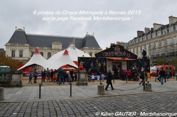 CIRQUE METROPOLE Rennes 2015
