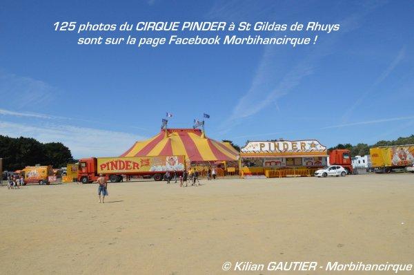 CIRQUE PINDER Saint Gildas de Rhuys 2015