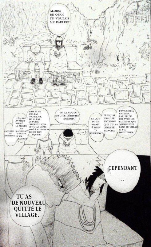 Sasusaku doujinshi (en français et oui malgré la rareté mdrr) partie 1