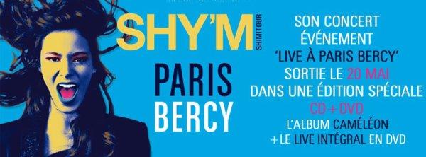 CD+DVD du concert  de Shy'm à Berc *-*