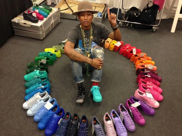 info pour 53629 6d6db Adidas Superstar Supercolor by Pharell - Blog de Lolitapika