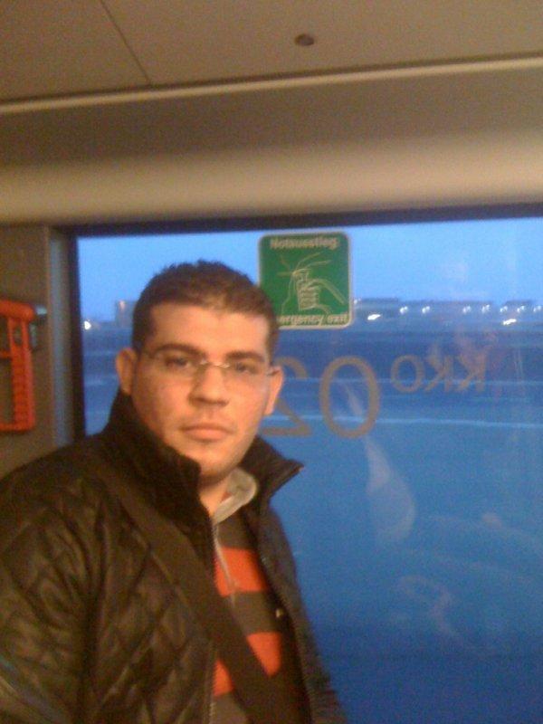 a l'aéroport de Francfort Allemagne
