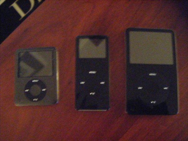 Ipod Nano, Vidéo et Silver
