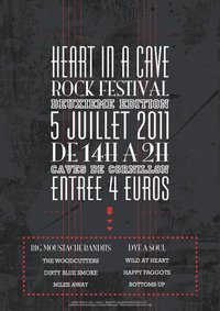 Heart in a cave Rock Festival