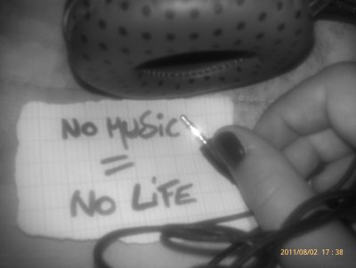 no musik !
