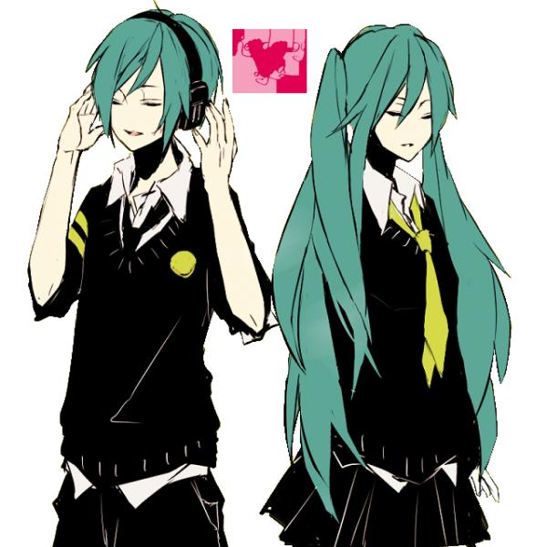 • Miku et Mikuo •