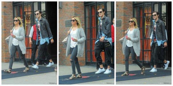 [08.02] En quittant son hôtel avec Chris dans SoHo, New York