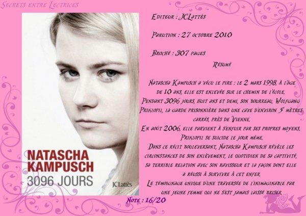 3096 Jours de Natascha Kampusch