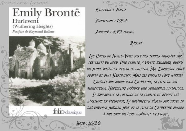 Hurlevent d'Emily Brontë
