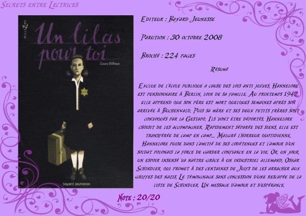 Un lilas pour toi de Laura Hillman