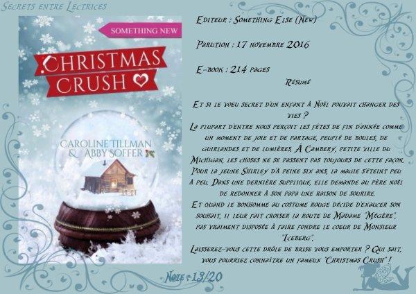 Christmas Crush de Caroline Tillman & Abby Soffer