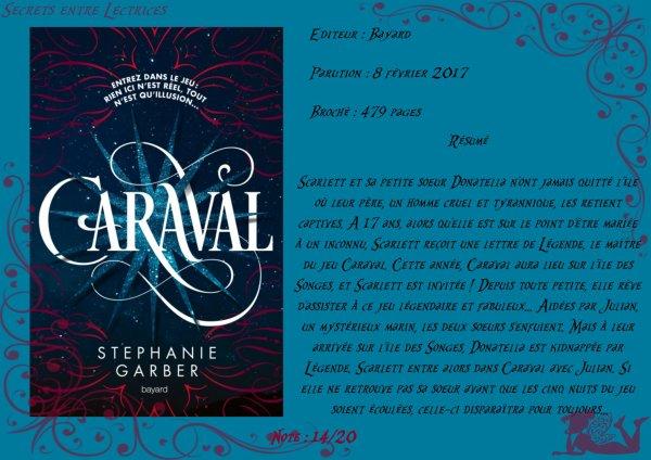 Caraval Tome 1 de Stephanie Garber