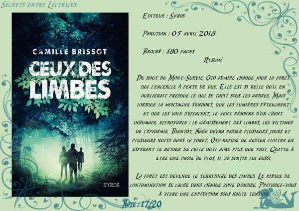 Ceux des limbes de Camille Brissot