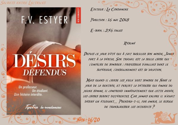 Désirs Défendus de F.V. Estyer
