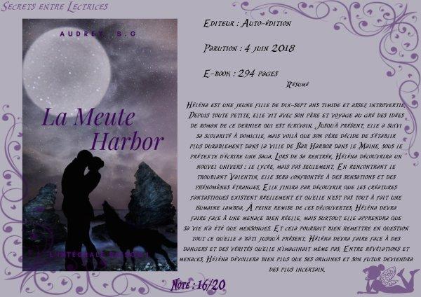 La Meute Harbor Tome 1 d'Audrey S.G.