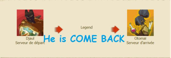 He is come BACK !