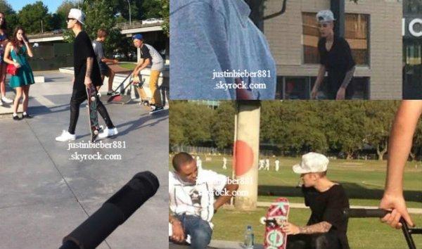 le 23 novembre 2013 - Justin fait du Skateboard à Auckland, Nouvelle Zélande