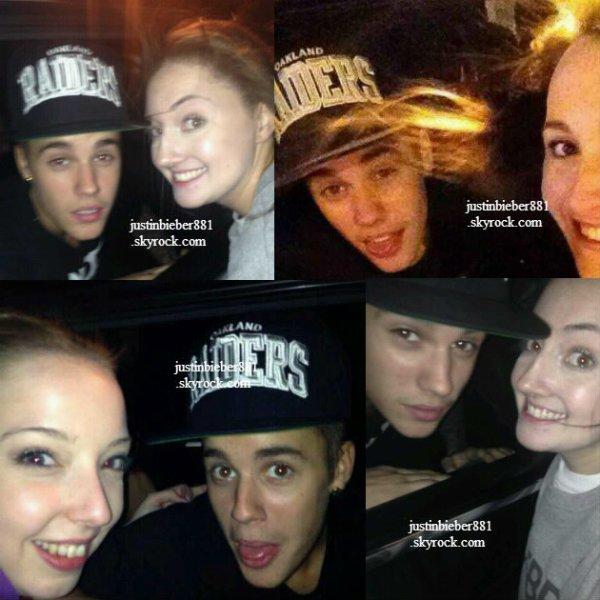 le 5 decembre 2013 - justin dans les rues de Sydney, Brisbane et Melbourne.
