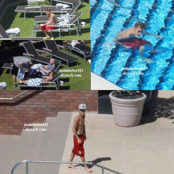 le 8 decembre 2013 -  Justin à son hôtel, Perth, Australie