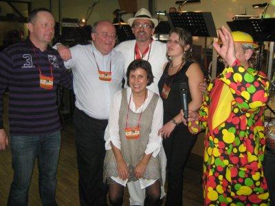 bal de carnaval a wuenheim avec le comité de fète de plainfaing et le trio royale