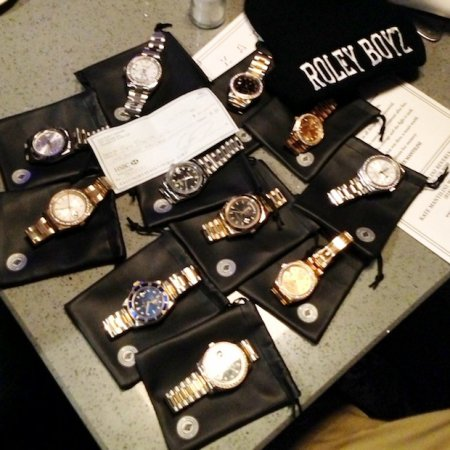 Game and Roley Boyz,Ben Baller presents Rolex watches