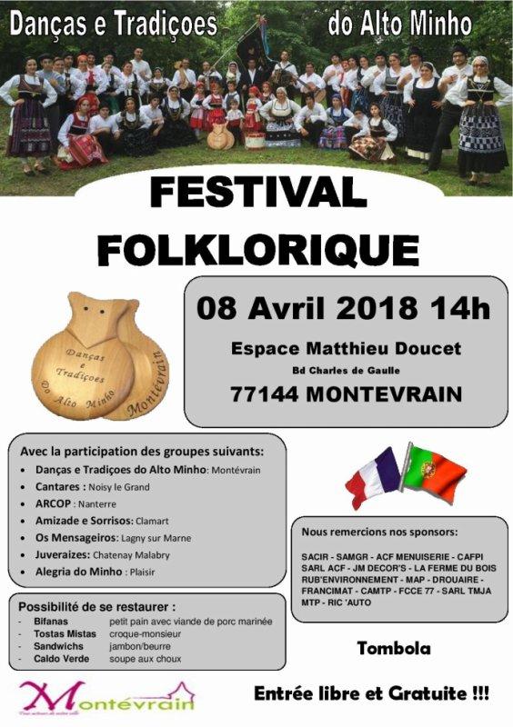 Festival a Montévrain 8 Avril 2018