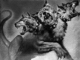 Les chien dans le cimtiere