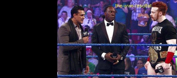 Résultats de WWE Smackdown du 17 aout 2012