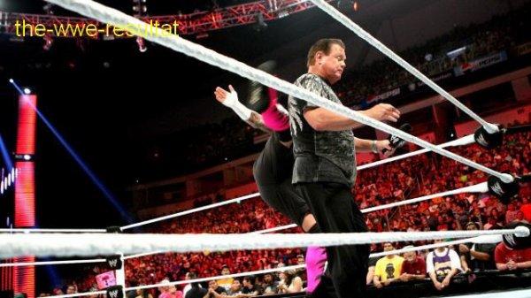 Résultats de WWE Raw du 20 août 2012