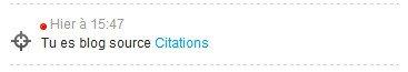 Bienvenue,blog de citation..♥