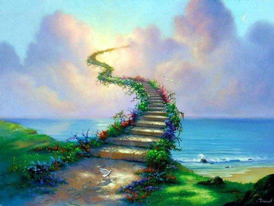 ~ Le paradis n'est pas un lieu, c'est un état d'âme ~ Georges Barbarin.