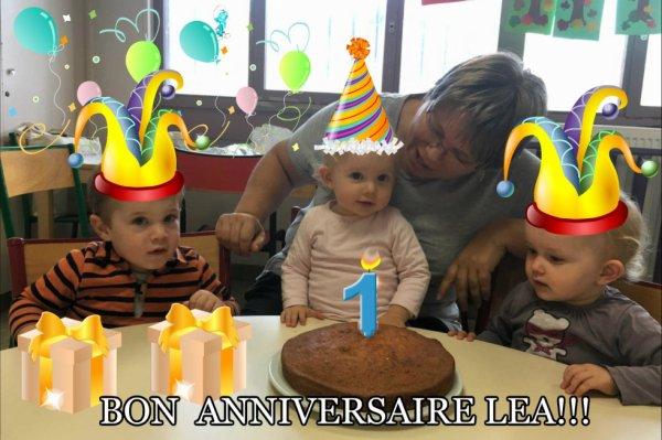 Bon anniversaire Léa!!!!!!