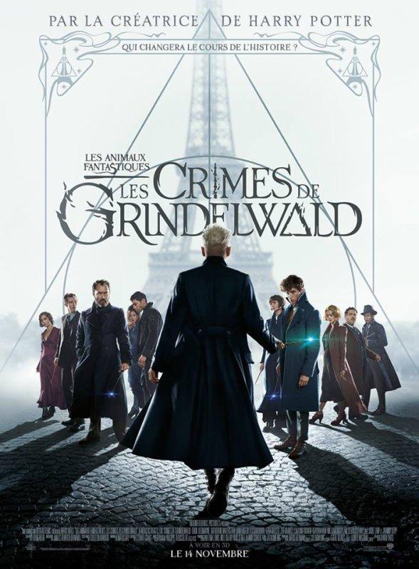 FICHE FILM : Les Animaux fantastiques - Les Crimes de Grindelwald