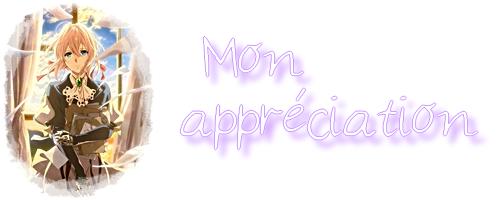 FICHE ANIME : Violet Evergarden
