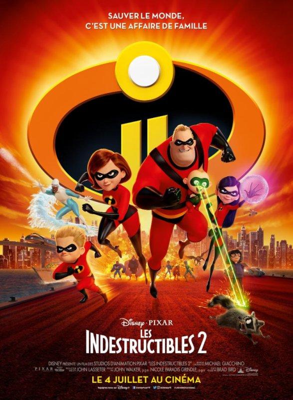 FICHE FILM : Les Indestructibles 2