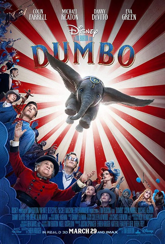 FICHE FILM : Dumbo (2019)