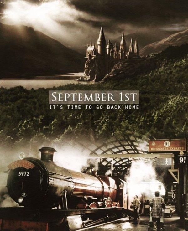 TAG : C'est la rentrée pour les sorciers !
