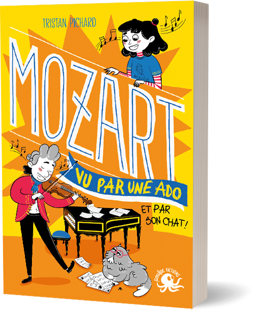 FICHE LECTURE : 100% Bio - T4 : Mozart, vu par une ado (et par son chat !)
