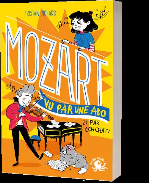 FICHE LECTURE : 100% Bio - T4 : Mozart, vu par une ado (et par son chat !)