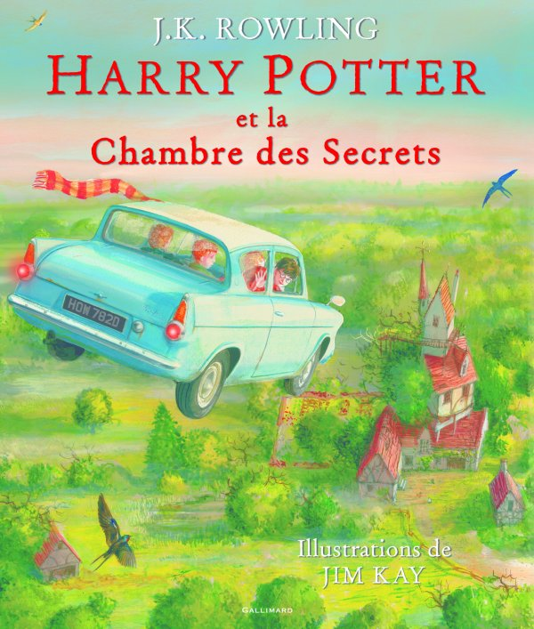 FICHE LECTURE : Harry Potter - T2 : Harry Potter et la chambre des secrets (illustré par Jim Kay)
