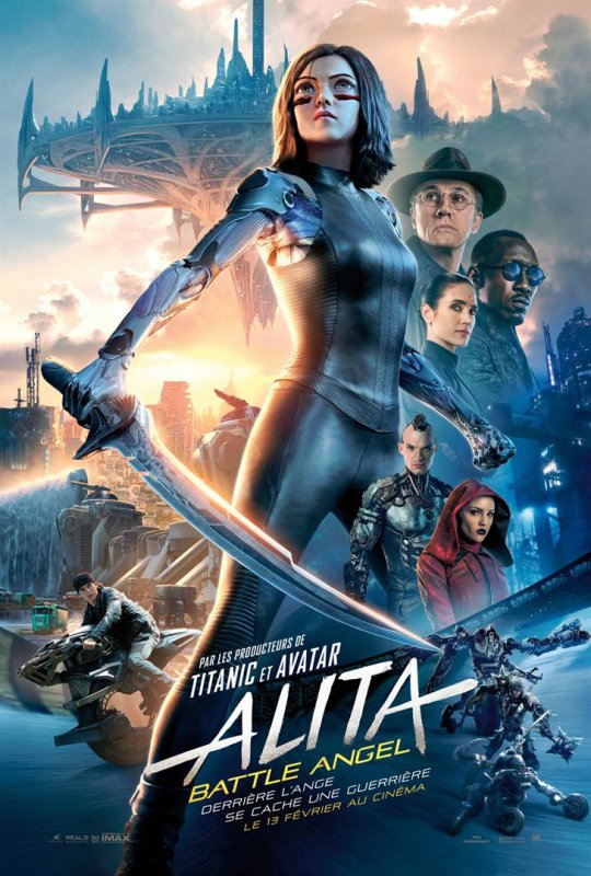 FICHE FILM : Alita Battle Angel