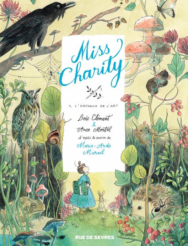 FICHE LECTURE : Miss Charity - T1 : L'Enfance de l'art
